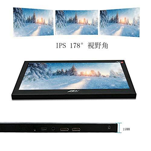 『モバイルモニター Kenowa 11.6インチ モバイルディスプレイ 1920*1080 IPS USB,HDIM 液晶パネル 支持 Raspberry Pi 1 2 3 PS4 xbox360 ゲーム』の1枚目の画像