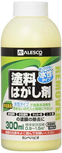 ALESCO カンペ 水性タイプ塗料はがし剤 300ml 424-0013