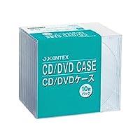 (まとめ買い)ジョインテックス CD/DVDケース 10mm厚 10枚 A403J 【×6セット】