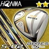 本間ゴルフ BERES ベレス S-02 ドライバー AQ6-49 2Sグレード 9.0S S-02