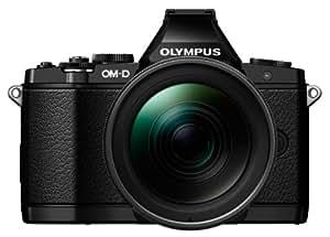 OLYMPUS ミラーレス一眼 OM-D E-M5 ED 12-40mm F2.8 PRO レンズキット エリートブラック LKIT EBLK