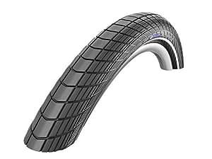 Schwalbe Big AppleパフォーマンスラインLiteスキンRaceガードEndurance有線Tyre–Reflexブラック、18x 2.0インチby Schwalbe
