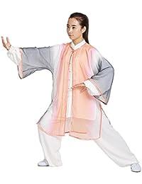(ジ-ライク) G-likeクラーデション ベール+長袖太極拳服セット(3点) 練習用 演舞服