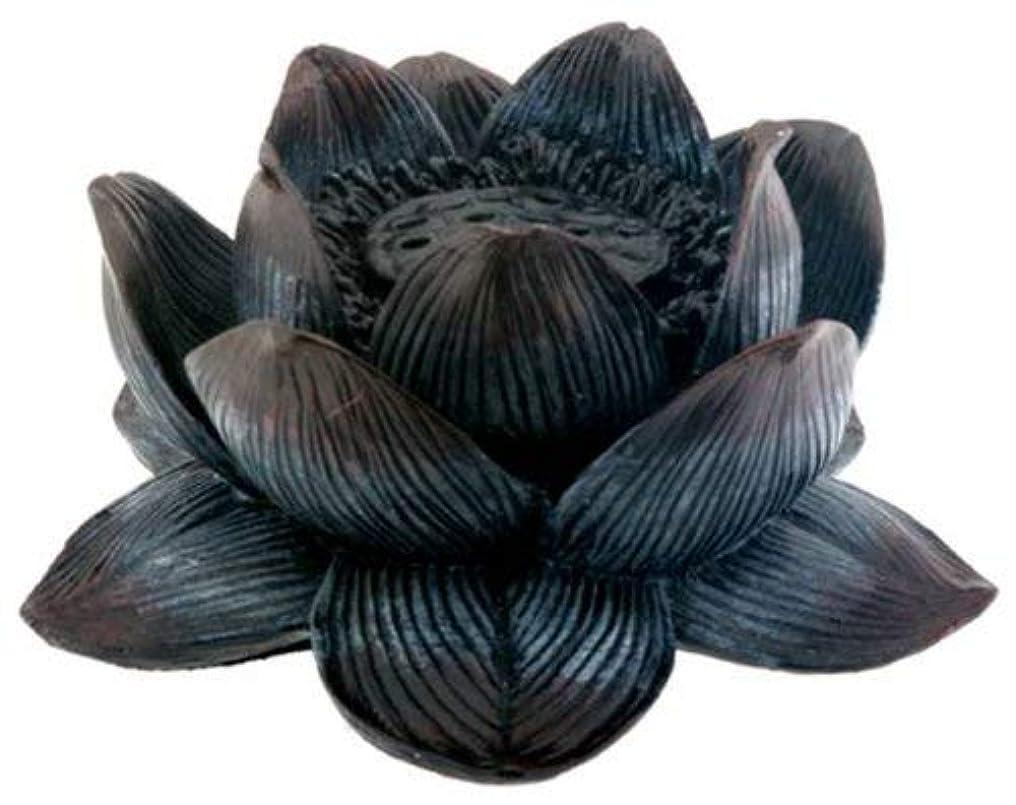 音節ロビーパーティションBuddha Meditation Aroma Scent Lotus Incense Burner Collectible