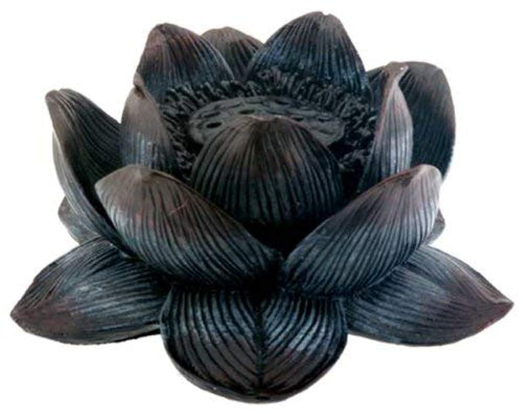 受取人ゴシップ下に向けますBuddha Meditation Aroma Scent Lotus Incense Burner Collectible
