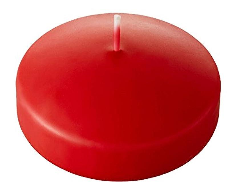 危険消化プロジェクターキャンドル プール80(カラーアトリエ) 「 コーラルオレンジ 」 12個入り A7060000CO