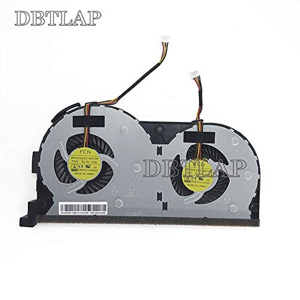 歴史的減衰セグメントDBTLAP CPU 冷却 ファン 互換性あり 用 Lenovo Y50-70AS Y50P-70FFGY Y70-70 Y50-70 Y50-50 Y50 Y50-70AM 冷却 ファン