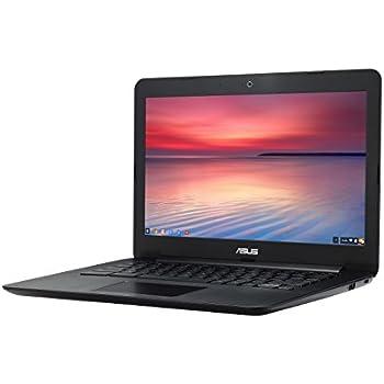 【日本正規品】ASUS ノートブック Chromebook ブラック ( Chrome OS / 13.3inch / Celeron N2830 / 4G / 16G EMMC / 日本語キーボード ) C300MA-BLACK
