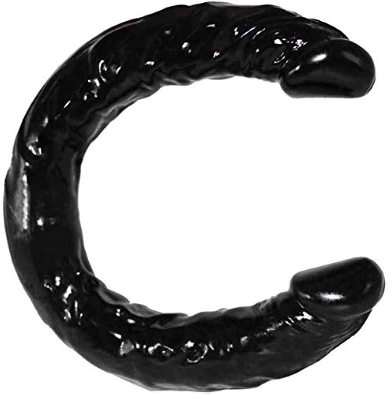 快適気づかないわがままハンドヘルドポータブル模擬玩具柔軟な振動が大型玩具ブラックカラーPVC素材をスラスト