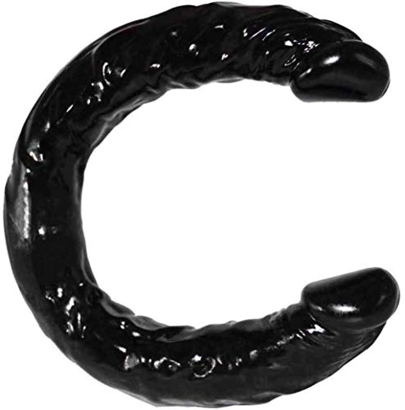 とにかくフォーカス抱擁ハンドヘルドポータブル模擬玩具柔軟な振動が大型玩具ブラックカラーPVC素材をスラスト