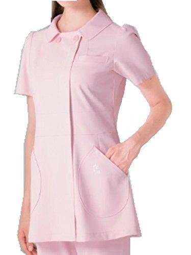 [해외](나가 이레 벤) NAGAILEBEN 여자 케이타 마루야마상의 반팔 닥터웨어 백의 KM-2152/(Nagai Leben) NAGAILEBEN Women`s Keita Maruyama Kamii Short-sleeved Doctor Wear White Coat KM-2152