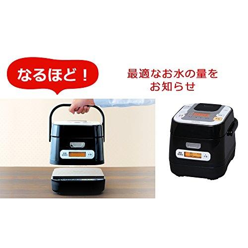 アイリスオーヤマ 銘柄量り炊きIHジャー炊飯器 3合 RC-IA30-B