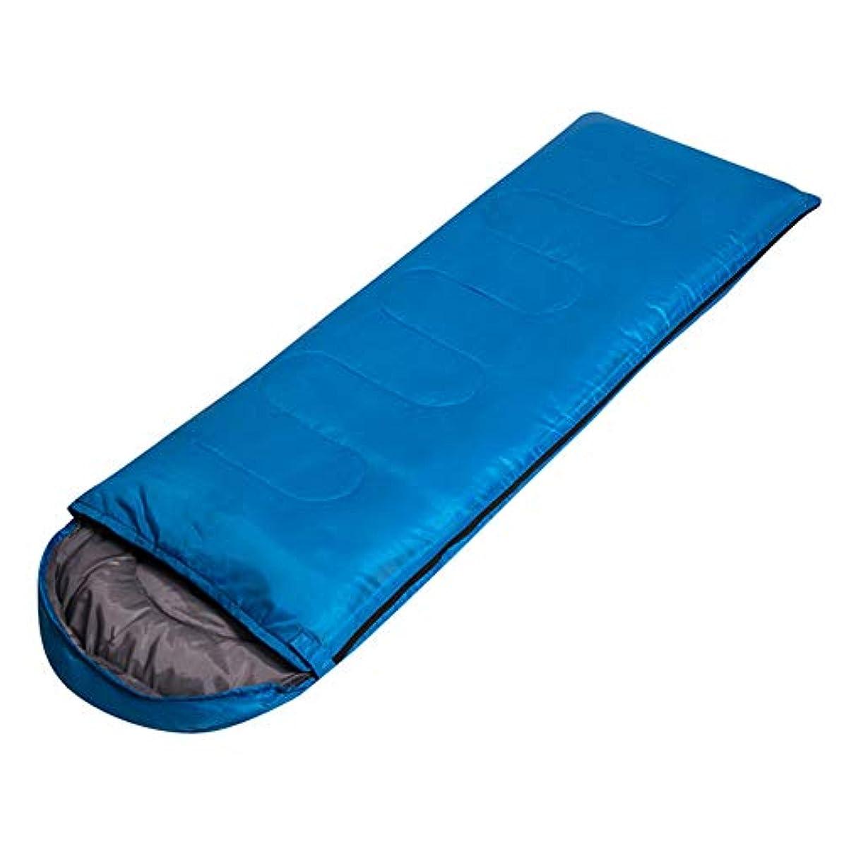 勢い沿って住人Durable,breathable,comfortableスリーピングバッグ、封筒大人の睡眠袋軽量暖かい通気性の睡眠袋屋外屋内昼食休憩スリーピングパッド,blue,70*220CM