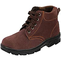 yotijar Men Safety Steel Toe Slip Breathable Industrial and Construction