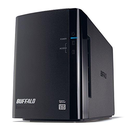 BUFFALO RAID1対応 USB3.0用 外付けハードデ...
