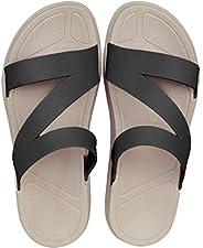 [WOTTE] サンダル レディース メンズ コンフォートサンダル 軽量 おしゃれ 歩きやすい ファッションサンダル スリッパ 室内/室外履き