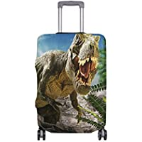 Mydaily Giant Dinosaur Luggage Cover Fits 18-32 Inch Suitcase Spandex Travel Protector