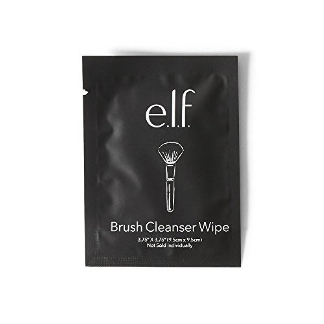 爆発物路地別々にe.l.f. Brush Cleanser Wipes (並行輸入品)