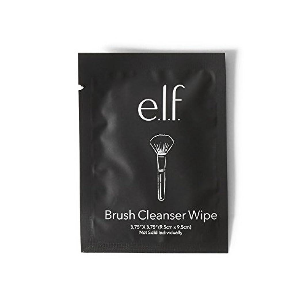 バイアスラケット収縮e.l.f. Brush Cleanser Wipes (並行輸入品)