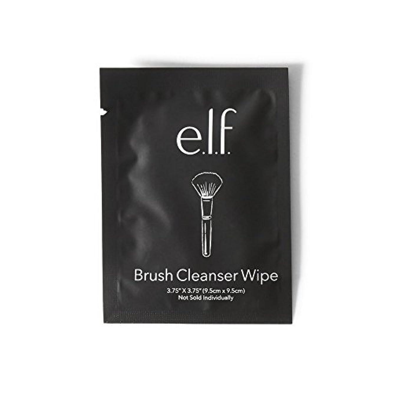なしでインクトラブルe.l.f. Brush Cleanser Wipes (並行輸入品)