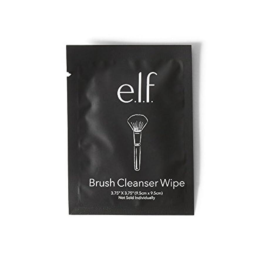 旧正月クスコ真夜中e.l.f. Brush Cleanser Wipes (並行輸入品)