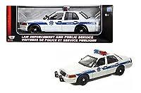 新しい1: 18W / B Motor Maxコレクション–ホワイト2001フォードクラウンビクトリア( Arizona Highway Patrol ) DiecastモデルCar by Motor Max