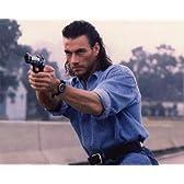 ブロマイド写真★映画『ハード・ターゲット』ジャン=クロード・ヴァン・ダム/銃を構える