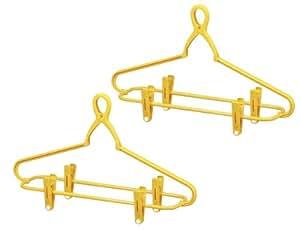 NEW 幸福の黄色いハンガー ジーンズ用 2本組 76166
