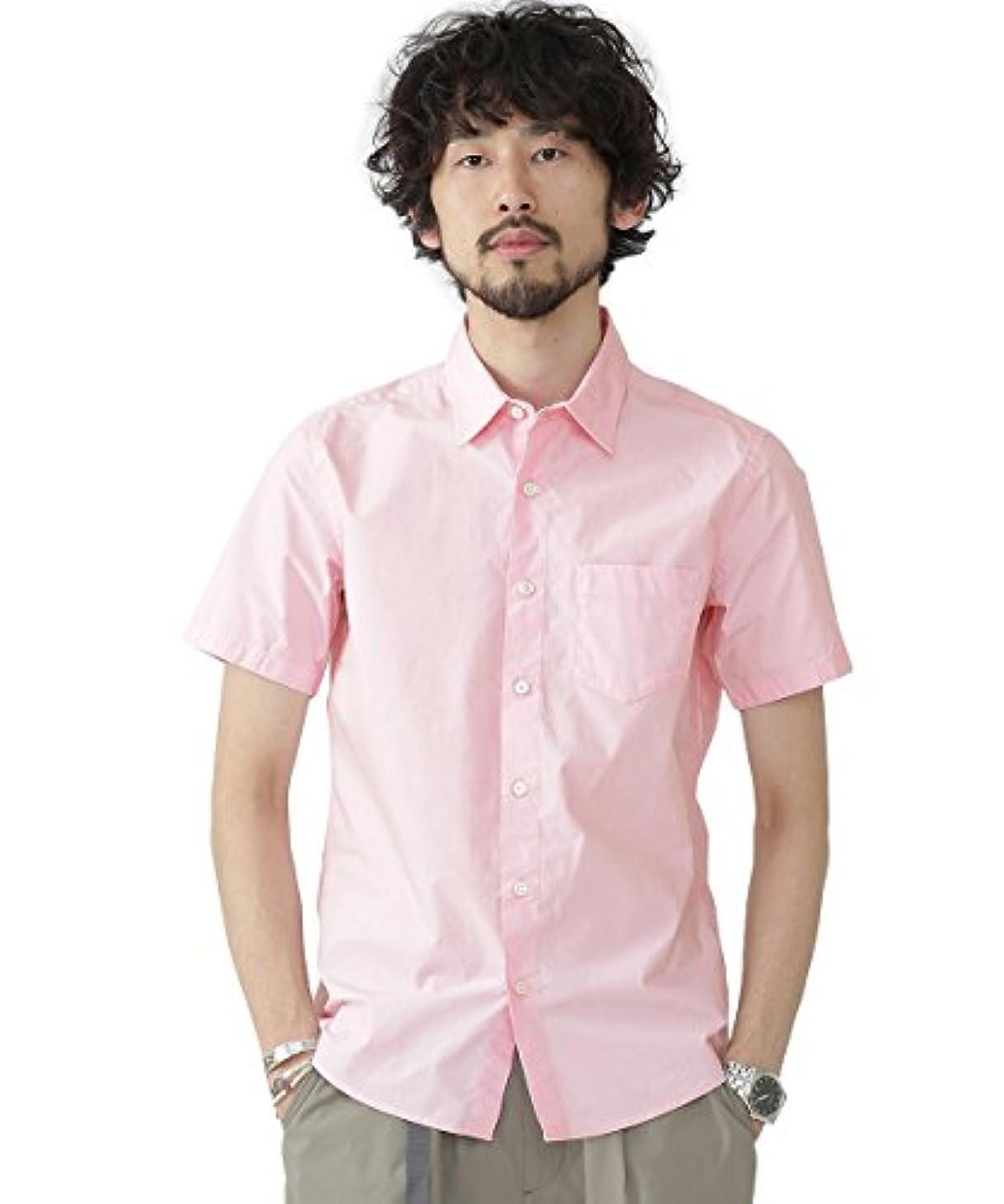 フレッシュ原油経験(ナノ?ユニバース) nano?universe One Night Dryシャツ S/S 9999171110722