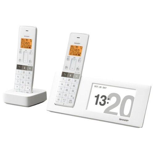 シャープ 電話機 インテリアホン JD-4C2CW-W [ホワイト系]