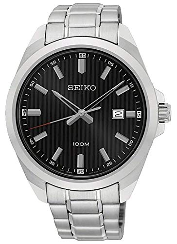 セイコー SEIKO 腕時計 メンズ SUR277P1 クォーツ ブラック シルバー [並行輸入品]