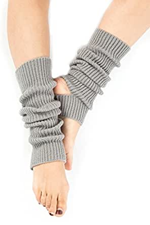 ANATMAN ヨガ レッグ ウォーマー leg warmer レディース 靴下 ソックス (グレー)