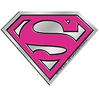 Licences Products DC Comics Originals Supergirl Logo 4cm Silver Metal Sticker