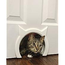 The Kitty Pass Interior Cat Door Hidden Litter Box Pet Door for cats up to 9.5kg