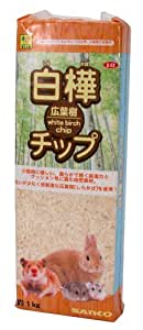 SANKO 白樺・広葉樹チップ 1kg