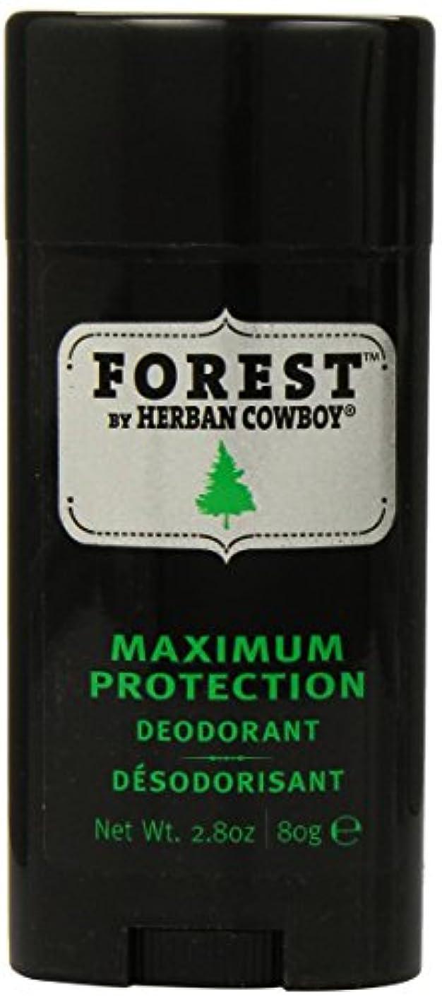 環境彼自身教育Herban Cowboy Deodorant Forest, 85 ml [並行輸入品]