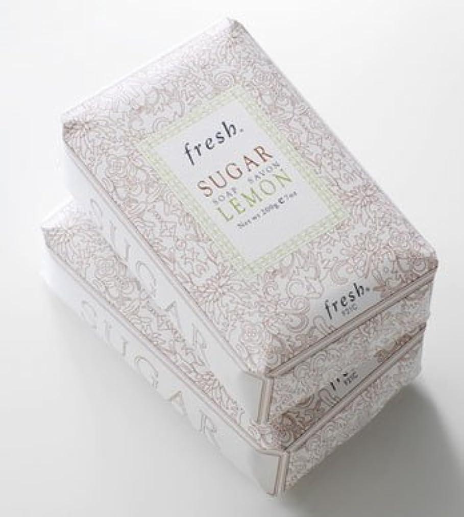 滑り台エラー光沢のあるFresh SUGAR LEMON SOAP(フレッシュ シュガーレモン ソープ) 7.0 oz (210g) by Fresh for Women