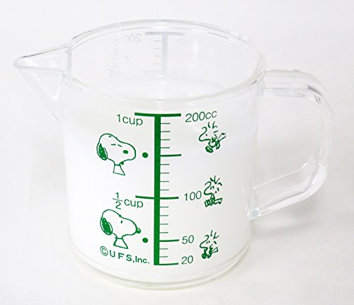 scale capa From japan OSK Snoopy measuring cup small
