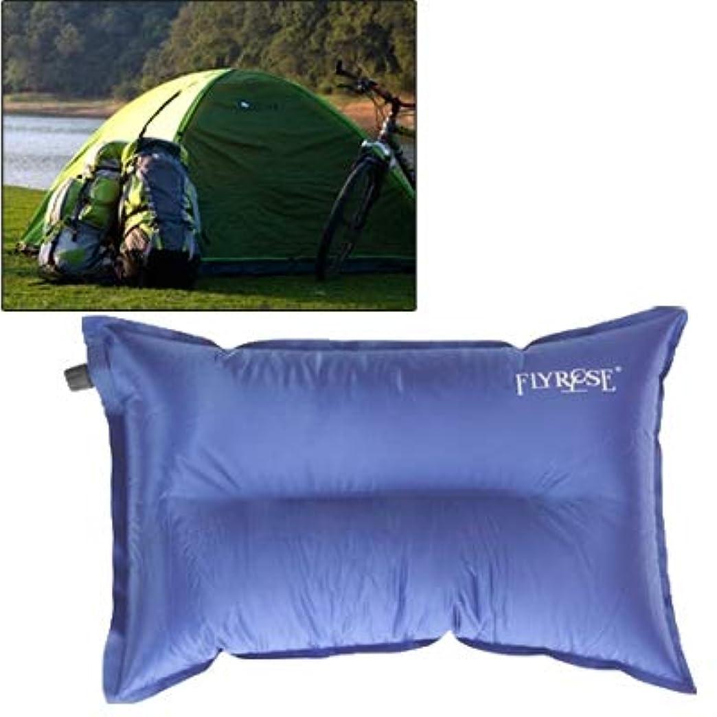 ワードローブイデオロギー原稿WTYDアウトドアツール アウトドアキャンプ自動空気枕キャンプピロー寝袋クッション、枕に腰掛け、ランダムカラーデリバリー キャンプ用品