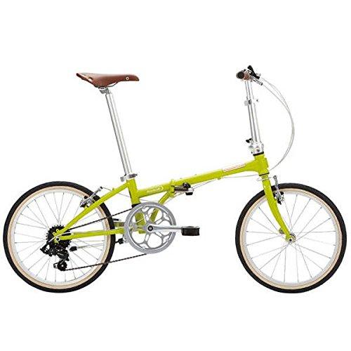 DAHON(ダホン) 折り畳み自転車 Boardwalk D7 (ボードウォーク D7) 2018(ライトグリーン)