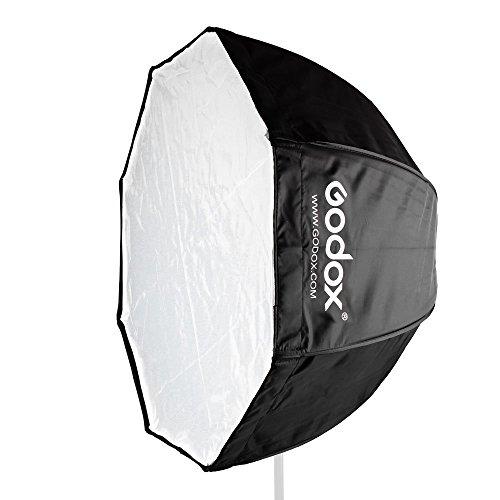 Godox 120cm傘オクタゴンポータブルソフトボックス反...
