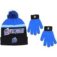 Marvel Little Boys Avengers Winter Hat and Glove Set