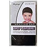 ウィッグ専用ネット ウィッグネット 筒型 タイプ フルウィッグ ネット フリーサイズ メッシュ 髪 ウィッグ専用ネット 5個 10個 セット (ブラック 5個)