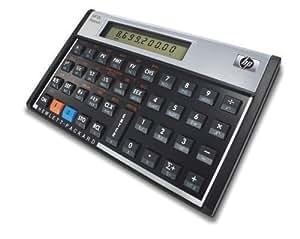 hp 12c Platinum ブラック 金融電卓 日マニュアル付