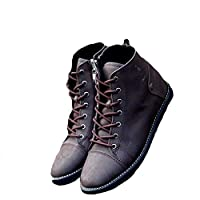 (ネルロッソ) NERLosso ブーツ ショート メンズ メンズブーツ 長靴 ミリタリー 防寒 メンズ ワーク ウエスタン マウンテン エンジニア モカシン チャッカ レースアップ 44 ブラウン cmt24199-44-br