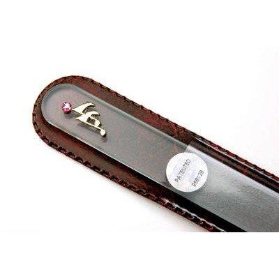 【ブラジェク】 ガラス爪やすり ネイルアクセサリー金色 音符(FP-47-G)