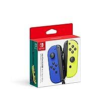 Switch JoyCon Controller Neon Blue / Neon Yellow