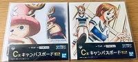 一番くじ ワンピース STORY-AGE C賞 キャンバスボード チョッパー ナミ ONEPIECE 2個セット?