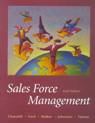 Download Sales Force Management (The Irwin/Mcgraw-Hill Series in Marketing) 0070275556