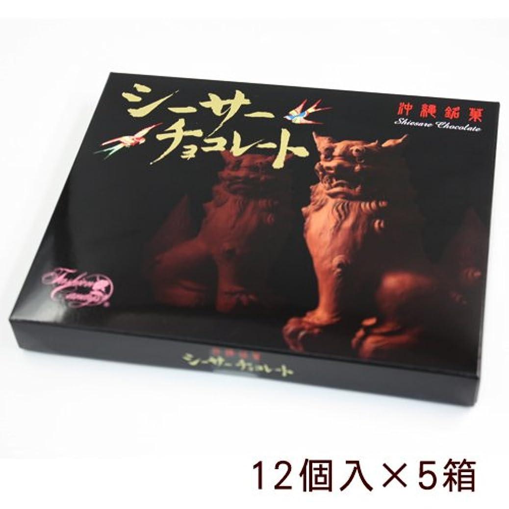 ピッチ爆発物悲惨シーサーチョコ(ミルクチョコ) 12個入×5箱セット